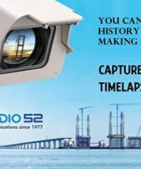 Timelapse Services for your Construction Project; short-term or long-term.