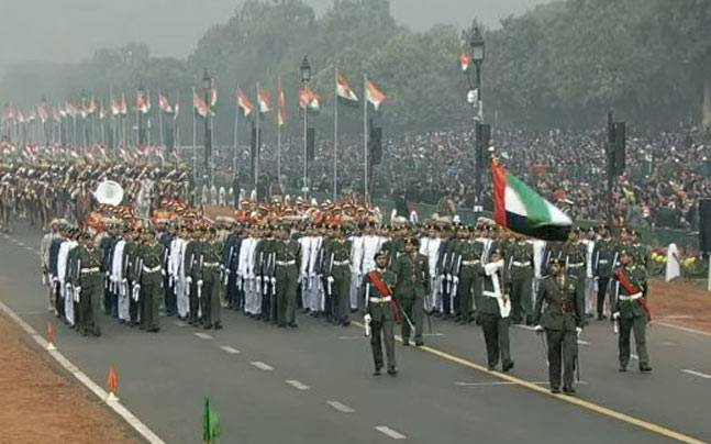 UAE Military takes part in Republic Day Parade | Kuwaitlisting